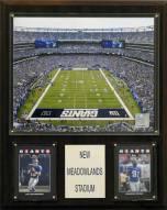 "New York Giants 12"" x 15"" Meadowlands Stadium Plaque"
