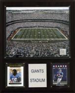"""New York Giants 12"""" x 15"""" Stadium Plaque"""