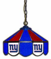 "New York Giants 14"" Glass Pub Lamp"