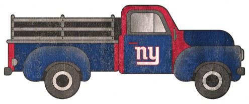 "New York Giants 15"" Truck Cutout Sign"