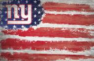 "New York Giants 17"" x 26"" Flag Sign"