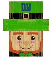"New York Giants 19"" x 16"" Leprechaun Head"