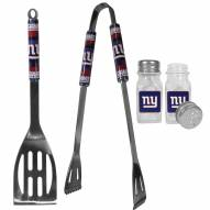 New York Giants 2 Piece BBQ Set with Salt & Pepper Shakers
