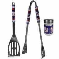 New York Giants 2 Piece BBQ Set with Season Shaker