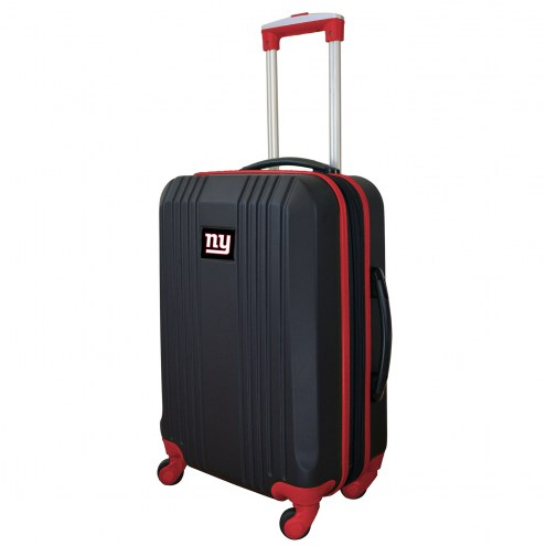 """New York Giants 21"""" Hardcase Luggage Carry-on Spinner"""