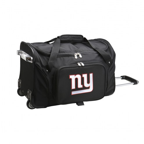 "New York Giants 22"" Rolling Duffle Bag"