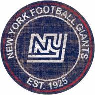 "New York Giants 24"" Heritage Logo Round Sign"