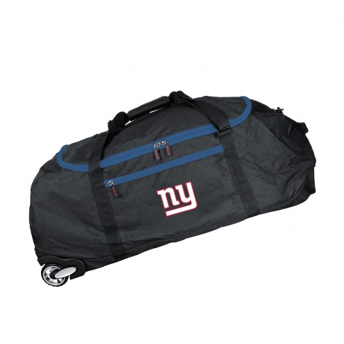 """New York Giants 36"""" Checked-in Wheeled Duffel"""