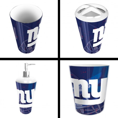 New York Giants 4-Piece Bath Set