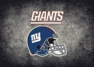 New York Giants 4' x 6' NFL Distressed Area Rug