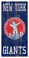 "New York Giants 6"" x 12"" Heritage Logo Sign"
