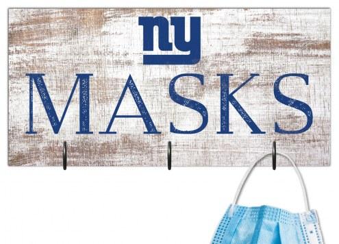"""New York Giants 6"""" x 12"""" Mask Holder"""