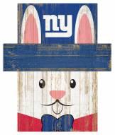"New York Giants 6"" x 5"" Easter Bunny Head"