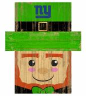 "New York Giants 6"" x 5"" Leprechaun Head"
