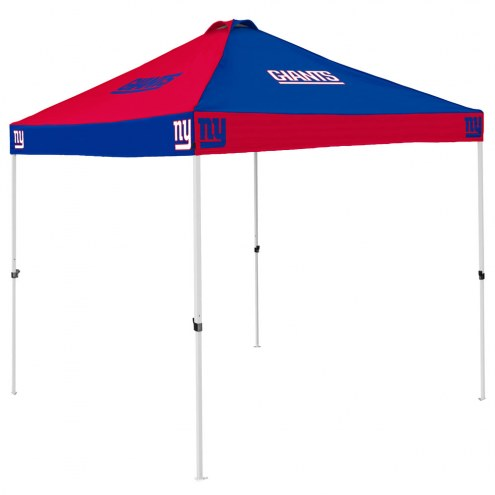 New York Giants 9' x 9' Checkerboard Tailgate Canopy Tent