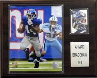 "New York Giants Ahmad Bradshaw 12 x 15"" Player Plaque"