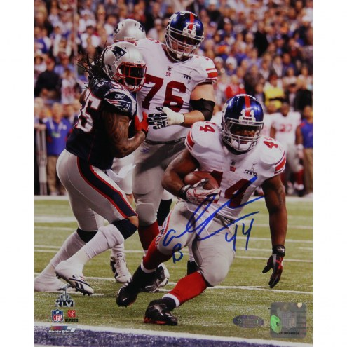 "New York Giants Ahmad Bradshaw Super Bowl XLVI GW TD Signed 16"" x 20"" Photo"