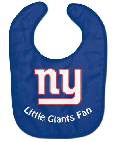 New York Giants All Pro Little Fan Baby Bib