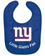 New York Giants All Pro Little Fan Baby Bib