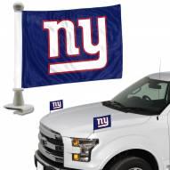 New York Giants Ambassador Hood & Trunk Car Flag