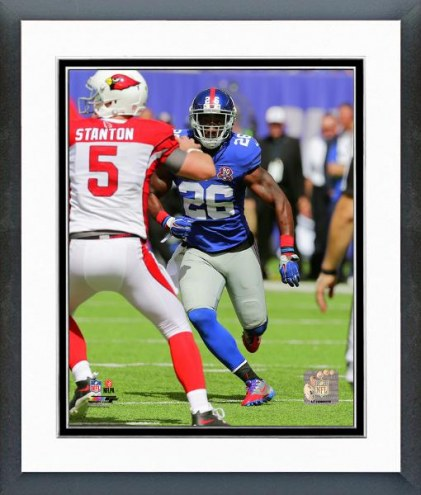 New York Giants Antrel Rolle Action Framed Photo