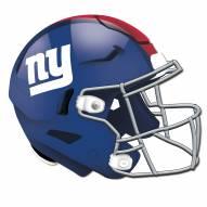 New York Giants Authentic Helmet Cutout Sign