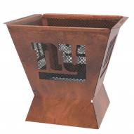 """New York Giants Badlands 29.5"""" Square Fire Pit"""