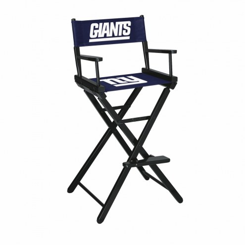 New York Giants Bar Height Director's Chair