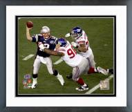 New York Giants Barry Cofield Super Bowl XLII Action Framed Photo