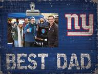 New York Giants Best Dad Clip Frame