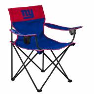 New York Giants Big Boy Folding Chair