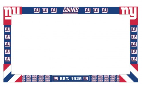New York Giants Big Game TV Frame