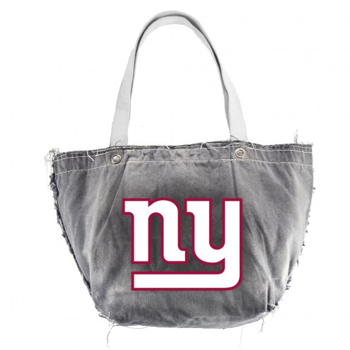 New York Giants Black NFL Vintage Tote Bag