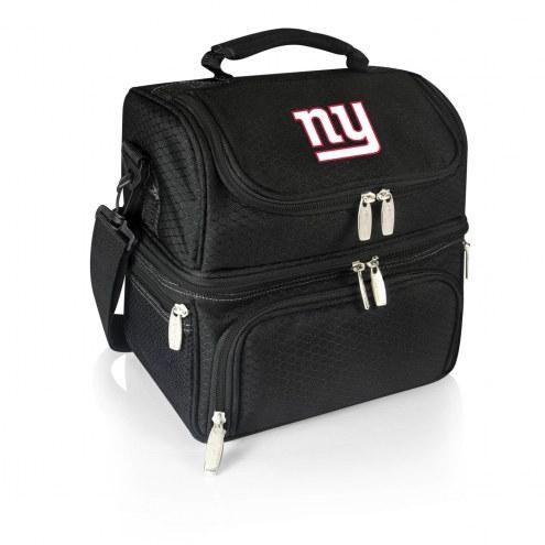 New York Giants Black Pranzo Insulated Lunch Box