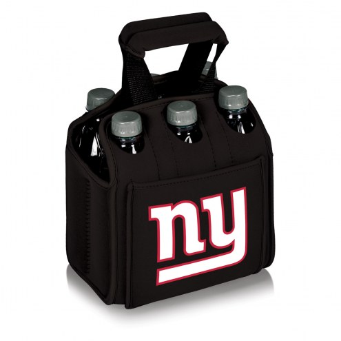 New York Giants Black Six Pack Cooler Tote