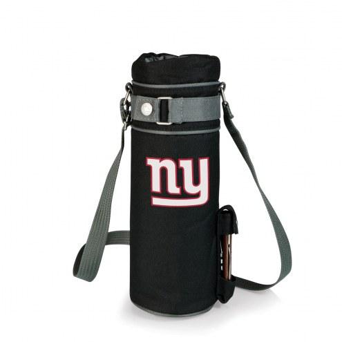 New York Giants Black Wine Sack