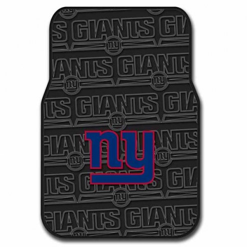 New York Giants Car Floor Mats