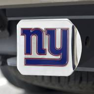 New York Giants Chrome Color Hitch Cover