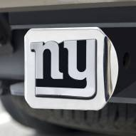 New York Giants Chrome Metal Hitch Cover
