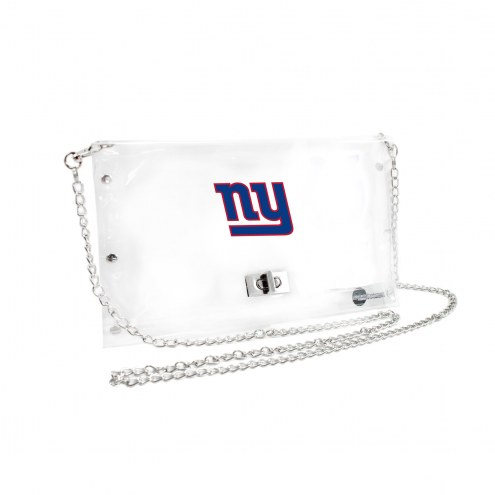 New York Giants Clear Envelope Purse