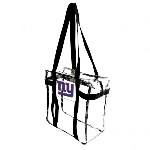 New York Giants Clear Tote Along