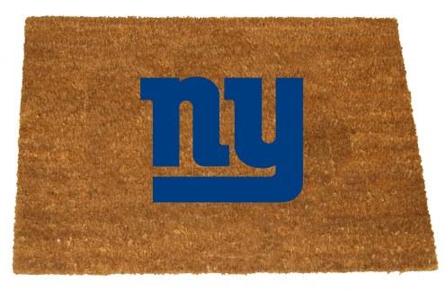 New York Giants Colored Logo Door Mat