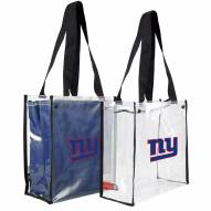 New York Giants Convertible Clear Tote