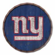 "New York Giants Cracked Color 24"" Barrel Top"