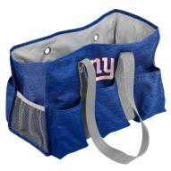 New York Giants Crosshatch Weekend Bag
