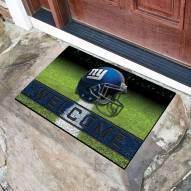 New York Giants Crumb Rubber Door Mat