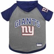 New York Giants Dog Hoodie Tee