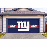 New York Giants Double Garage Door Cover