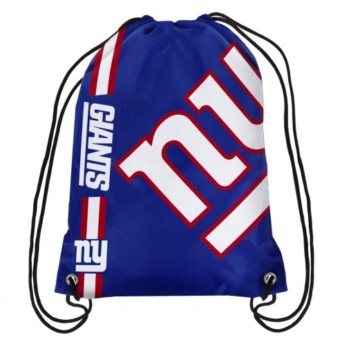 New York Giants Drawstring Backpack