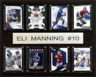 "New York Giants Eli Manning 12"" x 15"" Card Plaque"